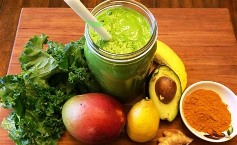 Tropical Green Detox Smoothie by Detox Your Liver With This Delicious Tropical Turmeric