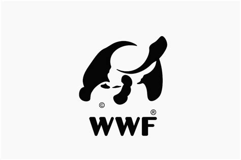 graphic designer turns wwf panda icon into other