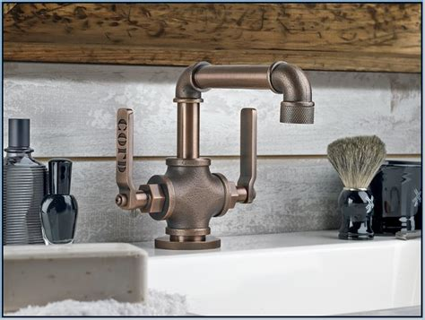industrial style faucets industrial style bathroom fixtures home design