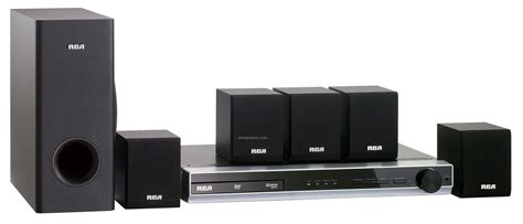rca 5 1 channel dvd home theater system 100 watt china