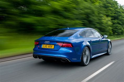 the new audi rs7 audi rs7 sportback performance 2016 review by car magazine