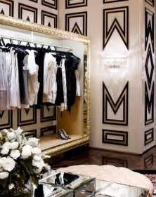 black white and gold decor vogue