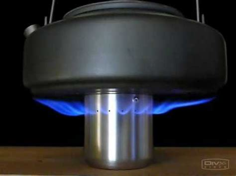 Kompor Trangia how to make side jet stove