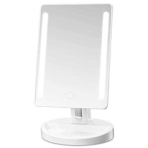 sanheshun 7x magnifying lighted travel makeup mirror amazon com sanheshun 7x magnifying lighted travel makeup
