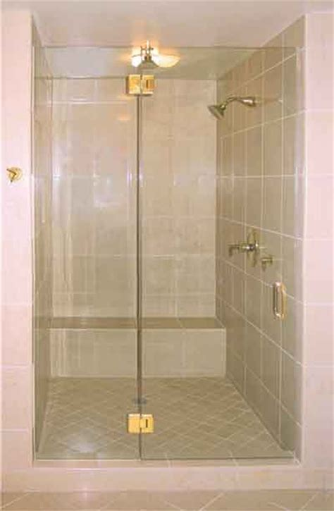 Brass Shower Doors Frameless Shower Enclosure With Brass Hinges Shower Door Systems Pinterest Frameless