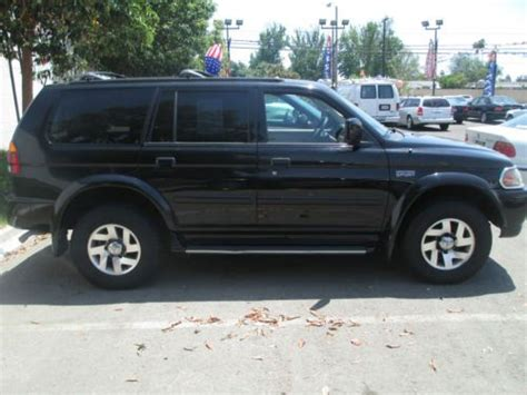 mitsubishi montero sport transmission problems buy used 2000 mitsubishi montero sport limited sport
