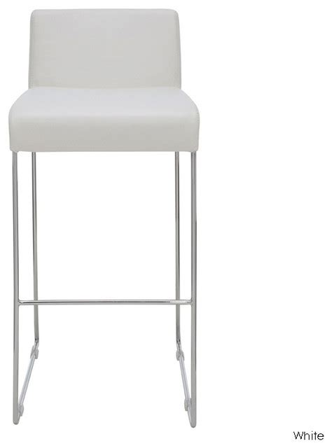 White Modern Counter Stools counter stool white modern bar stools and