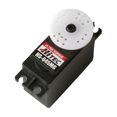 hs motors hitec hs 645mg high torque servo makersecrets