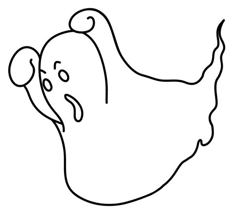 printable ghost coloring pages coloring me