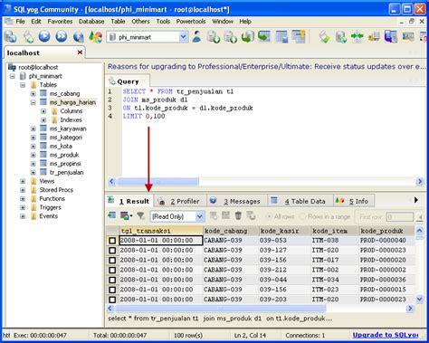membuat query di sqlyog sqlyog mysql tutorial bahasa indonesia by phi integration