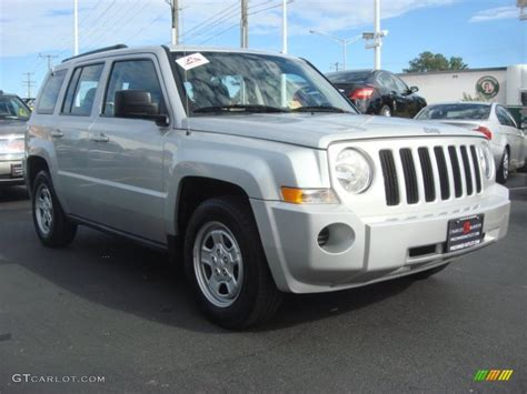 silver jeep patriot 2010 bright silver metallic jeep patriot sport 4x4