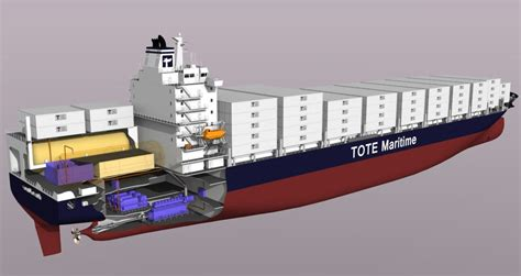 ship engine room design introducing isla bella world s first lng powered