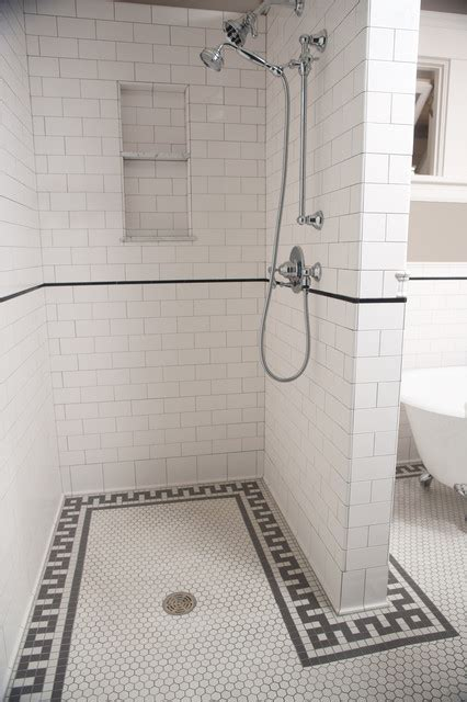 subway tile shower traditional bathroom minneapolis clay home design idea designs using tiles