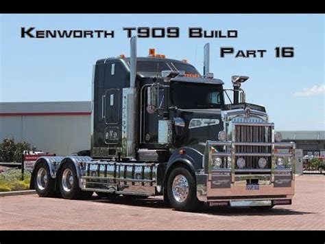 build a kenworth kenworth t909 build part 16
