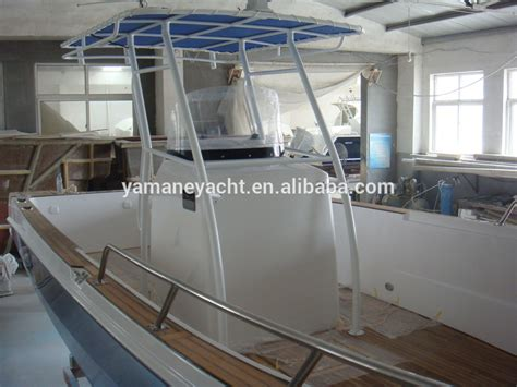 How To Fiberglass A Boat Floor by Sg850 8 5m Center Console Frp Fiberglass Fishing Boat