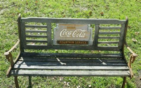 coca cola bench worth coca cola collectibles hq price guide