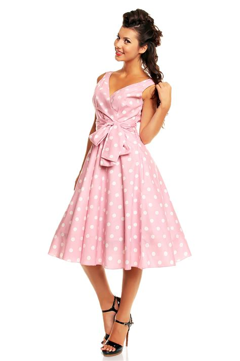 polka dot swing dress 1950s ladies marilyn 1950 s rockabilly polka dot retro swing