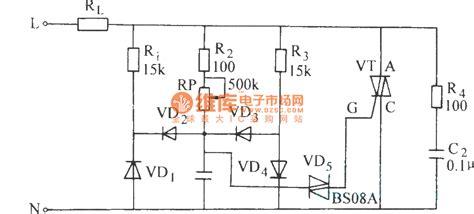 inductive load circuit bi directional thyristor inductive load circuit control circuit circuit diagram