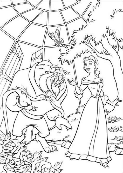 beauty and the beast coloring pages games beauty and the beast coloring pages beauty and the beast