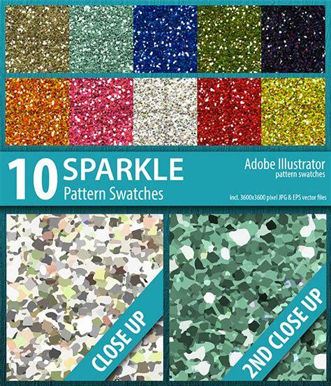 gold glitter pattern illustrator 10 sparkle glitter pattern swatches vector by