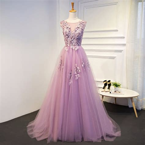 Luxe To Less Tulle Prom Dress by Robe De Soiree New Cheap Gradient Tulle Evening Dress 2017