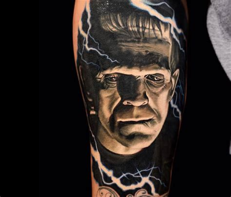 frankenstein tattoo by nikko hurtado no 175