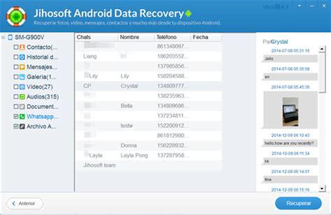 tutorial whatsapp para android la tutorial m 225 s completa para recuperar mensajes
