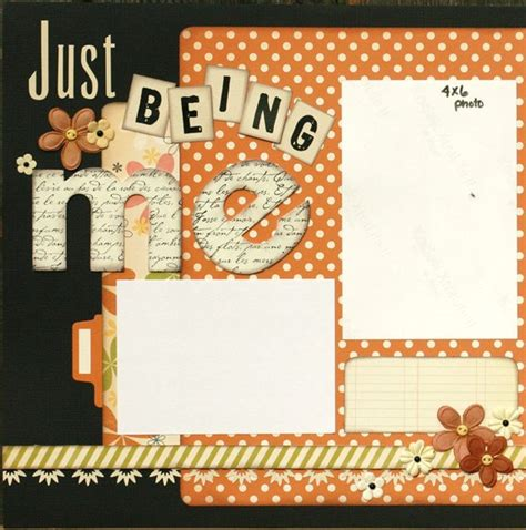 double layout scrapbook pages premade scrapbook page 12 x 12 double page layout just being