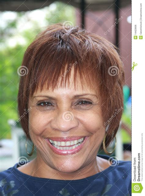 middleage woman fun happy african american woman royalty free stock image