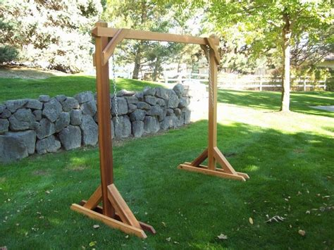 garden swing frame plans 54 best images about how to build n a frame swing on