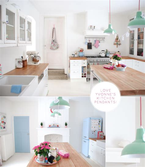 pastel kitchen bright bazaar a pastel coloured kitchen