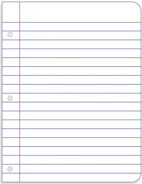 lined paper with leaf border loose leaf paper clipart clipart panda free clipart images