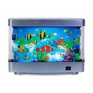 Table Lamp Aquarium Aquarium Lamp Fish Walmart Com