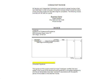 vendor invoice template 100 vendor invoice template invoice exle invoice