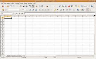 Open Office Spreadsheet Templates open office calc create spreadsheets for free with open