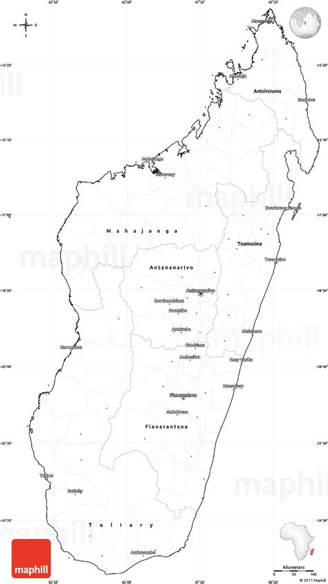 madagascar map coloring page blank simple map of madagascar cropped outside