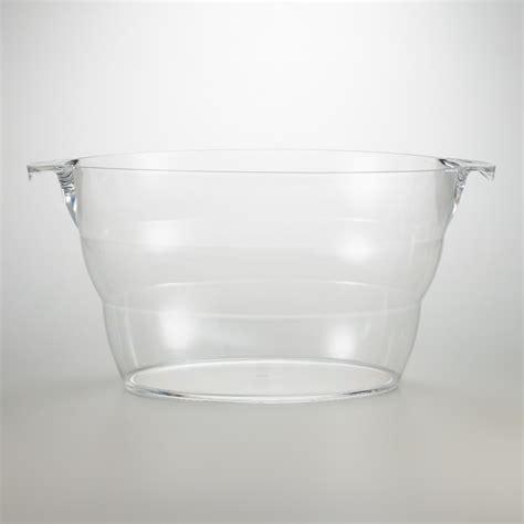 clear acrylic party tub world market