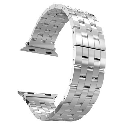 Mgslimfit Style Stainless Steel Band For Apple 38mm Ho T1310 hoco 5 pointer style stainless steel band for apple