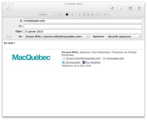 Modèle Signature Mail comment cr 233 er une signature html pour mail mountain