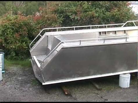 totalboat skiff episode 29 building a 16 foot aluminum fishing boat from a kit