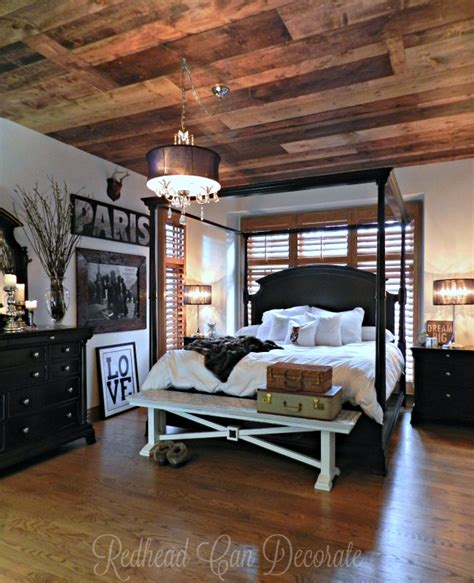 Wooden Ceiling Designs For Bedrooms Diy Wood Planked Ceiling Can Decorate