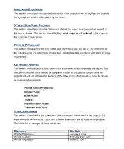 technical scope document template scope of work template 26 free word pdf documents