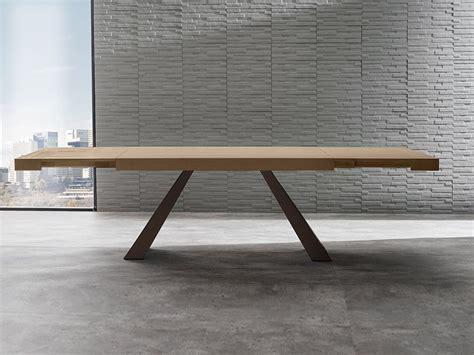 tavoli in legno tavolo allungabile in legno bump