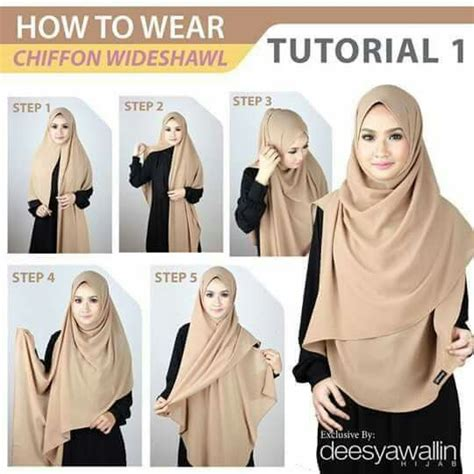 youtube tutorial hijab pasmina syar i chiffon wideshawl hijab tutorial cara pakai shawl