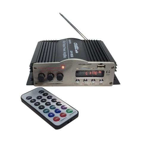 Power Usb 4 Ch Coustic Audio 778 Usb Mosfet jual coustic audio car100 usb dan mp3 power lifier
