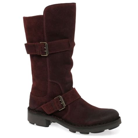 ladies biker style boots fly naio womens biker style boots charles clinkard