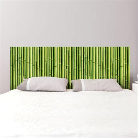 Tete De Lit Bambou by Sticker T 234 Te De Lit Tiges De Bambou D 233 Coration Murale
