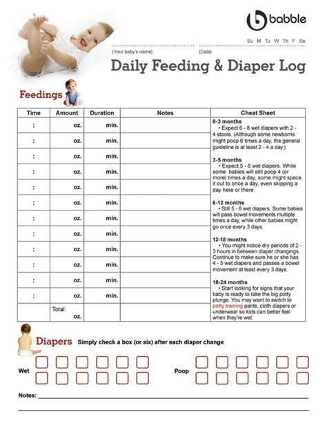 baby log book template 25 best ideas about baby feeding chart on