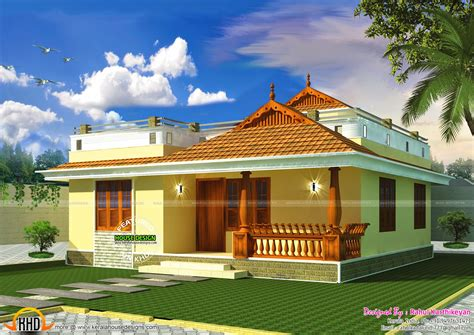 my dream home design kerala small kerala style home my sweet home pinterest
