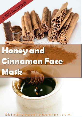 diy honey  cinnamon face mask  home skin disease